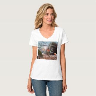 Gorilla And Respect Friendship Logo, T-Shirt