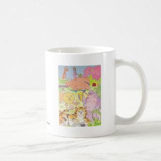 Gorilla and the gang! basic white mug