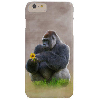 Gorilla and Yellow Daisy Barely There iPhone 6 Plus Case