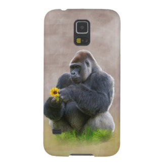 Gorilla and Yellow Daisy Galaxy S5 Covers