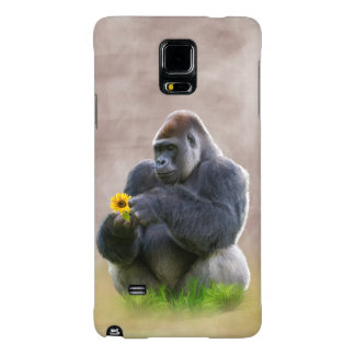 Gorilla and Yellow Daisy Galaxy Note 4 Case