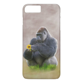 Gorilla and Yellow Daisy iPhone 7 Plus Case