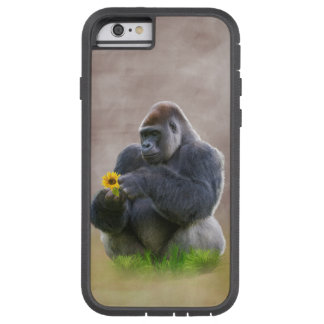 Gorilla and Yellow Daisy Tough Xtreme iPhone 6 Case