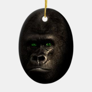 Gorilla Ape Monkey Christmas Ornament