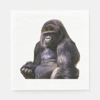 Gorilla Ape Monkey Disposable Napkins