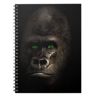 Gorilla Ape Monkey Spiral Notebook