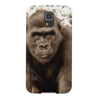 Gorilla Ape Primate Wildlife Animal Photo Galaxy S5 Covers