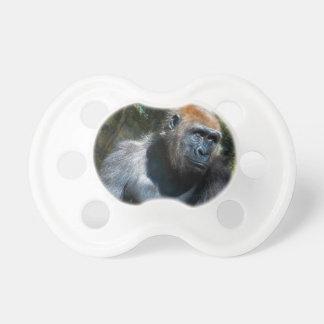 Gorilla Ape Primate Wildlife Animal Photo Pacifier