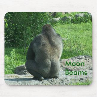 gorilla backside, Moon Beams Mouse Mat