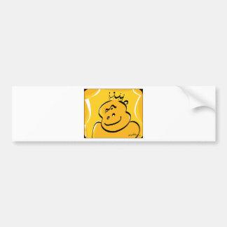 Gorilla Bumper Sticker