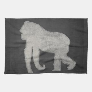 Gorilla Chalkboard Tea Towel