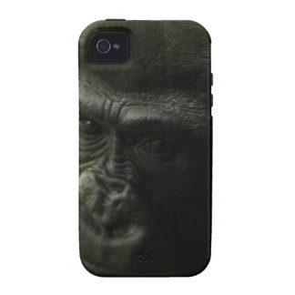 Gorilla Closeup.png iPhone 4 Cover