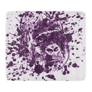 Gorilla Cutting Board