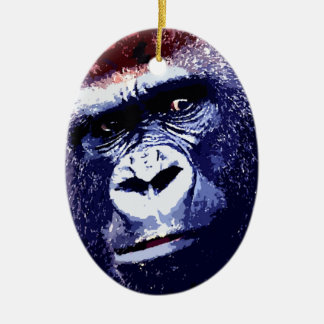 Gorilla Christmas Ornaments