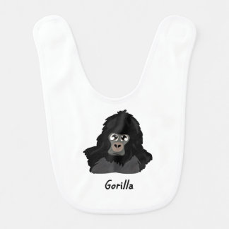 Gorilla Design Bib