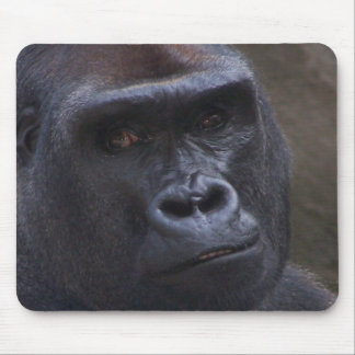 Gorilla Face Mouse Mat
