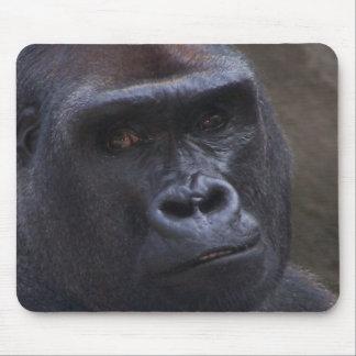 Gorilla Face Mouse Mat