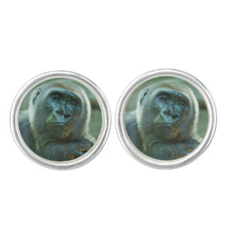 Gorilla - Fed Up Cuff Links