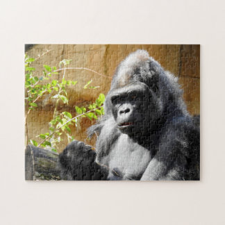 Gorilla Focus Jigsaw Puzzle