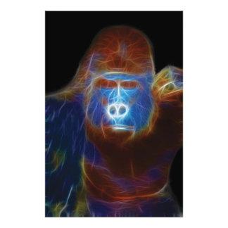 Gorilla Fractal Photo Print