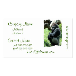 Gorilla Glare Business Cards