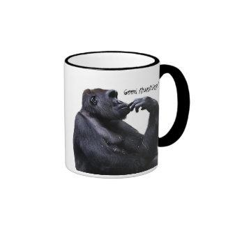 Gorilla Good Thunking Ringer Mug