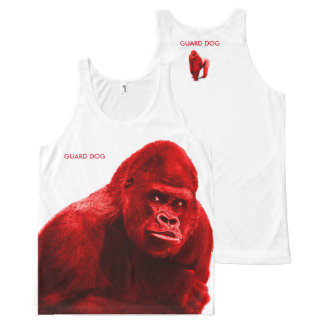 Gorilla Guard Dog All-Over Print Tank Top