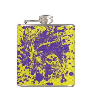 Gorilla Hip Flask