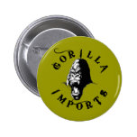Gorilla Imports Pinback Buttons