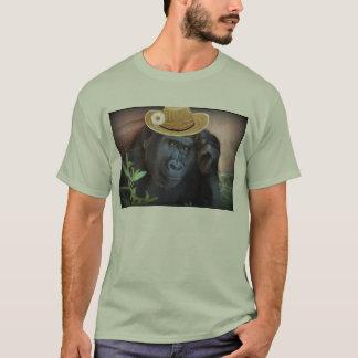 Gorilla in a straw hat, T-Shirt