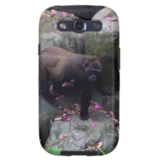 Gorilla in Flowers Galaxy SIII Cover