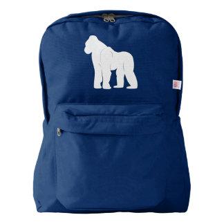 Gorilla in Silhouette Backpack