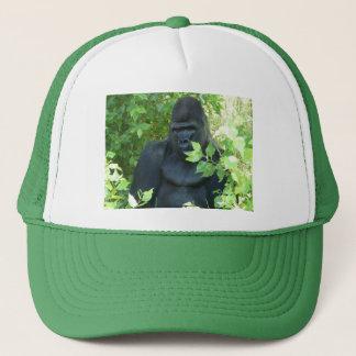 gorilla in the bush trucker hat