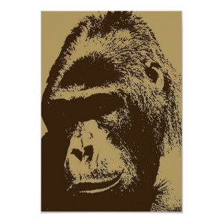 Gorilla Invitation