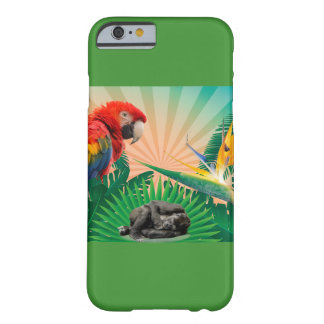 Gorilla jungle parrot barely there iPhone 6 case