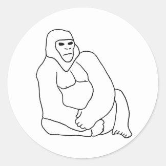 Gorilla Line 1 Sticker