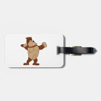 Gorilla Luggage Tag