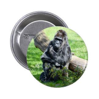 Gorilla Monkey Button