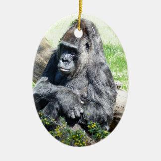 Gorilla Monkey Ornaments