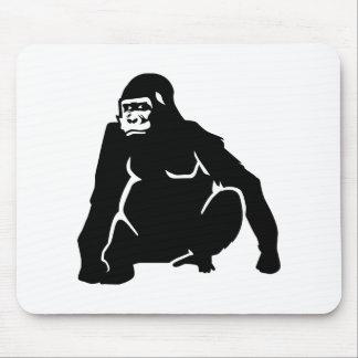 Gorilla monkey mouse pad