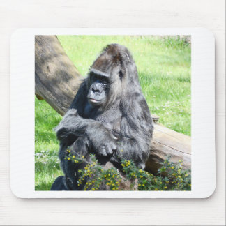 Gorilla Monkey Mousepad