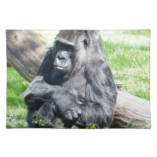 Gorilla Monkey Place Mat