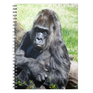 Gorilla Spiral Note Book