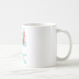 Gorilla of Paper Toalé and Fuego by Kelvin Huggin Basic White Mug