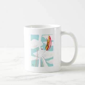 Gorilla of Paper Toalé and Fuego by Kelvin Huggin Coffee Mug
