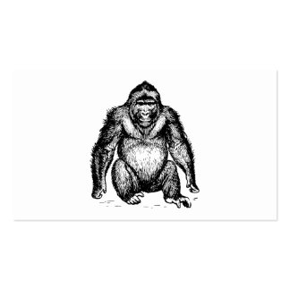 Gorilla Pack Of Standard Business Cards