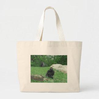 Gorilla pic jumbo tote bag