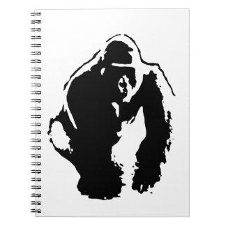 Gorilla Pop Art Note Book
