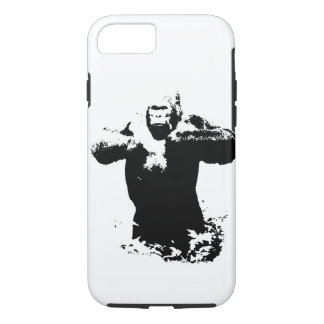 Gorilla Pop Art Tough iPhone 7 Case