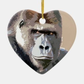 Gorilla Portrait Ornament